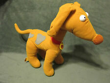 "Rugrats SPIKE DOG Mattel Viacom Barks Ears Flap 12"" Tall 1997 Plush Stuffed TOY"