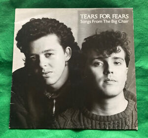 TEARS FOR FEARS - Songs From The Big Chair (Vinyl LP) 1985