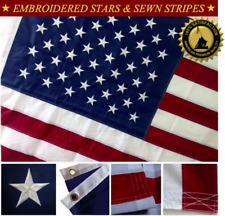 American US Flag 6x10 Foot Heavy Duty 210 Nylon Premium Oxford Quality