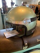VESPA GTS REPLICA HELMET PORTIFINO GREEN XL & LG NEW