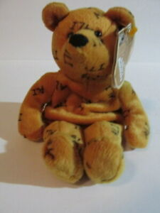 MUHAMMAD ALI - BEAR - ALI SALVINO'S BAMMERS - 1999 - BEANIE BABY - NEW WITH TAG