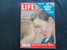 1956 DECEMBER LIFE MAGAZINE - AMERICAN WOMAN SPECIAL ISSUE - L 1037