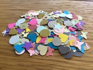 200 Small Mixed Shapes For Card Making And Scrapbooking