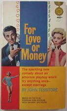 FOR LOVE OR MONEY JOHN TESSITORE GOLDMEDAL #K1341 1963 MOVIE ED KIRK DOUGLAS