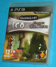 Ico & Shadow of the Colossus - Classics HD - Sony Playstation 3 PS3 - PAL