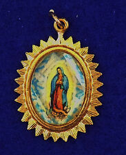 VINTAGE /ANTIQUE BLESSED MOTHER MARY PENDENT JEWELRY NECKLACE RINGS SPIRIT GIFT