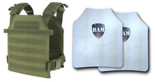 Level IIIA+ 3A+ Body Armor FLAT | ArmorCore | Bullet Proof Vest Sentry OD GREEN