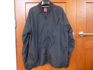 Men's Nike Tech Hypermesh Varsity Jacket 832190 010 Black Small S