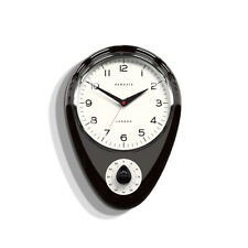 NEWGATE CLOCKS - Kitchen Wall Clock Black Metal - The Discovery Timer RRP £65