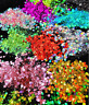 Chunky Metallic, Iridescent Cosmetic Glitter Mix For Festival & Creative Makeup