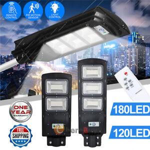 900000LM Commercial Solar Street Light LED Outdoor IP67 Dusk-to-Dawn Spotlight