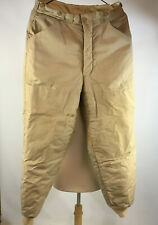Vintage 50s 60s JC Higgins Dupont Quilted Lined Thermal Hunting Outdoors Pants