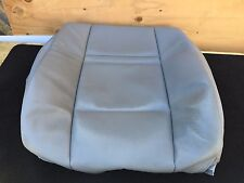 2007-2013 BMW E70 X5 DRIVER SEAT LEATHER UPPER CUSHION COVER WITH SRS OEM