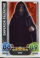 Star Wars Force Attax : Force Awakens Set 1 #35 Emperor Palpatine