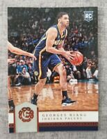 2016-17 Panini Excalibur George Niang #69 Bronze Rookie Card Indiana Pacers