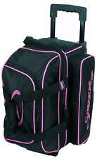 Storm Streamline 2 Ball Double Roller Bowling Bag Black Pink