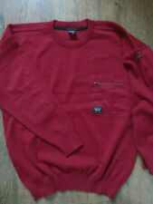 PAUL&SHARK yachting men's wool red jumper size L