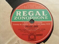 The Yodelling Boundary Rider 78Rpm Barnacle Bill The Sailor /Peg Leg Jack