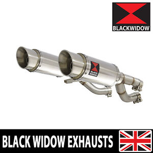 V-MAX VMAX 1200 VMAX1200 VMX Exhaust Silencer Kit 200mm Round Stainless 200SS