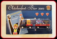 Truck Unimog Hängerzug PAULANER MÜNCHEN Oktoberfest-Bier 2003 NEU OVP !