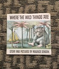 1963 Where The Wild Things Are by Maurice Sendak