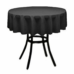 """Tablecloth Round 72"""" for Wedding linen, Restaurant, Home, BabyShower, Party Rent"""