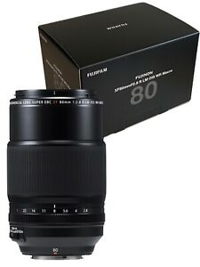 New FUJIFILM XF 80mm f/2.8 R LM OIS WR Macro Lens APS-C