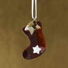 Swarovski Twinkling Stocking Ornament New