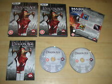 DRAGON AGE - Origins - Collectors Edition Pc DVD Rom RPG Complete - FAST POST