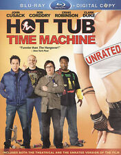 Hot Tub Time Machine: Unrated (Blu-ray , 2010, 2-Disc Set)