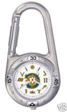 Masonic  Working Tool Carabiner Watch 9070SBL