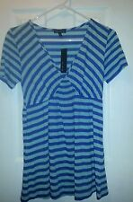 Womens Blouse with Empire Waist from the Limited; Size Sm. NWT  Blue/Green