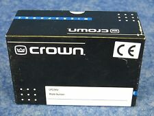 NEW! Crown PZM10 Pressure Zone Boundary Microphone
