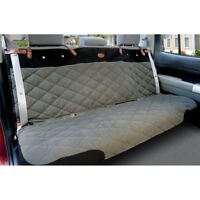 Solvit Premium Bench Seat Cover Extra Wide Grey 47 L x  60 W Quilted Waterproof