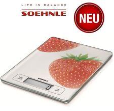 SOEHNLE 66312 Page Profi Küchenwaage digit. bis 15kg Fresh Fruits Waage ERDBEERE