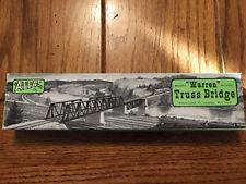 Atlas - Ho Warren Truss Bridge - Prefabricated Kit Complete With Track #83