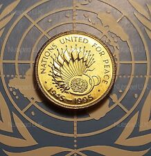 1995 £2 Two pound coin 50th Anniversary of United Nations Brilliant uncirculated