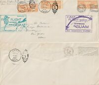 US 1935 PAN AM SURVEY FLIGHT COVER BERMUDA CLIPPER SAN FRANCISCO TO GUAM