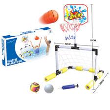 ZHIYU KIDS FOOTBALL WATER BASKETBALL SPORTS GAME PLAY TOY SET BALLS POLS NET TOY