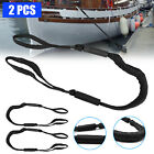 2 Pack Marine Bungee Dock Line Boat Mooring Rope Anchor Cord Heavy Duty Stretch