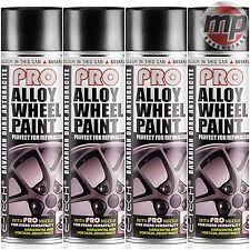4 ETech PRO Alloy Wheel Refurbish & Customise Spray Paint - Dark Anthracite Grey