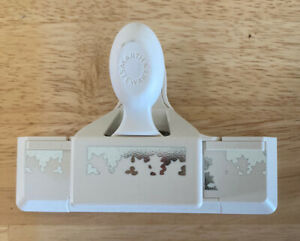 Martha Stewart Holly border edge Paper Punch paper crafts scrapbooking