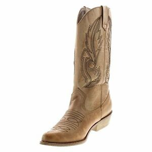 COCONUTS BY MATISSE GAUCHO STYLE / TAN BOOTS SIZE 7 M / WOMEN NEW! [XZ010]