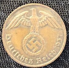 MILITARIA WW2 ORIGINALE MONNAIE EN BRONZE GERMAN COINS