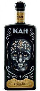 (71,3 €/L) KAH Tequila Anejo / Square Bottle mit Totenkopf / 700ml 40%