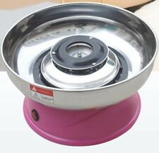 Candy Floss machine, + 2kg Candyfloss suger + 100 Candy Floss Paper White Cones,