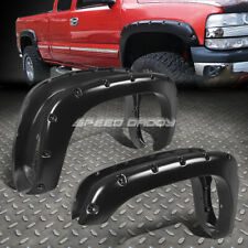 "FOR 99-06 SIERRA 78.7""/97.6"" BED 3"" TEXTURED POCKET-RIVETED WHEEL FENDER FLARES"