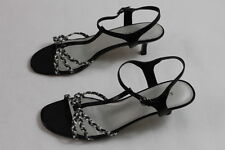 women's Karen Scott leather sandals open toe strappy summer sandals size 10 med.
