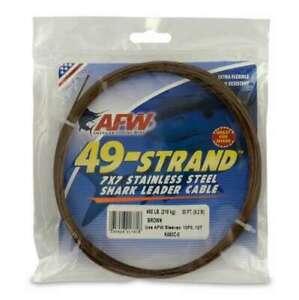 American Fishing Wire K480C-0 Camo 480lb Test 30 Feet