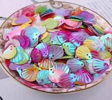 200pcs Mixed Shell shape Sequin 2-Holes Fit Sewing clothing crafts decoration